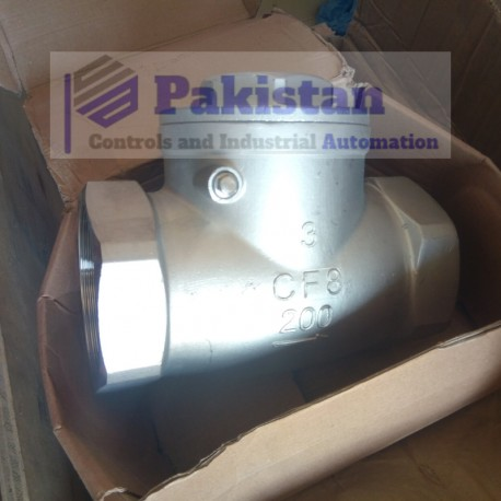 """Stainless Steel Check Valve 3"""""""