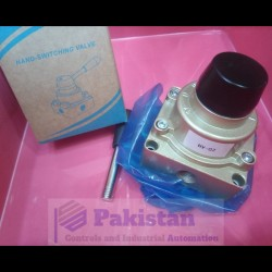 """Pneumatic Handle Valve Size 1/4"""" (2 sooter)"""