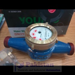 """Younio Water Flow Meter 1"""" (DN25)"""