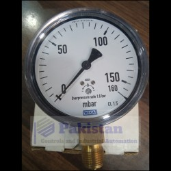 WIKA Pressure Gauge 0-160 mbar