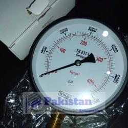 WIKA Pressure Gauge 0 - 400 Bar (6000 Psi)