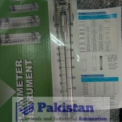 Panel Mounted Rotameter Flow meter 20GPM 70LPM